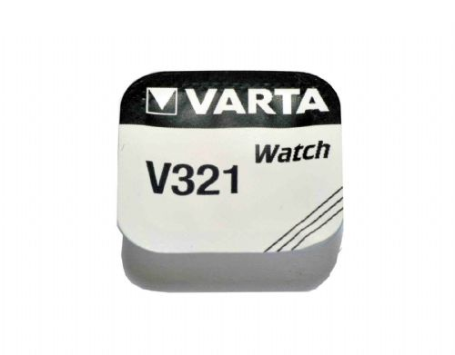 Varta V321 321 SR616SW Silver Oxide Watch Battery 1.55v